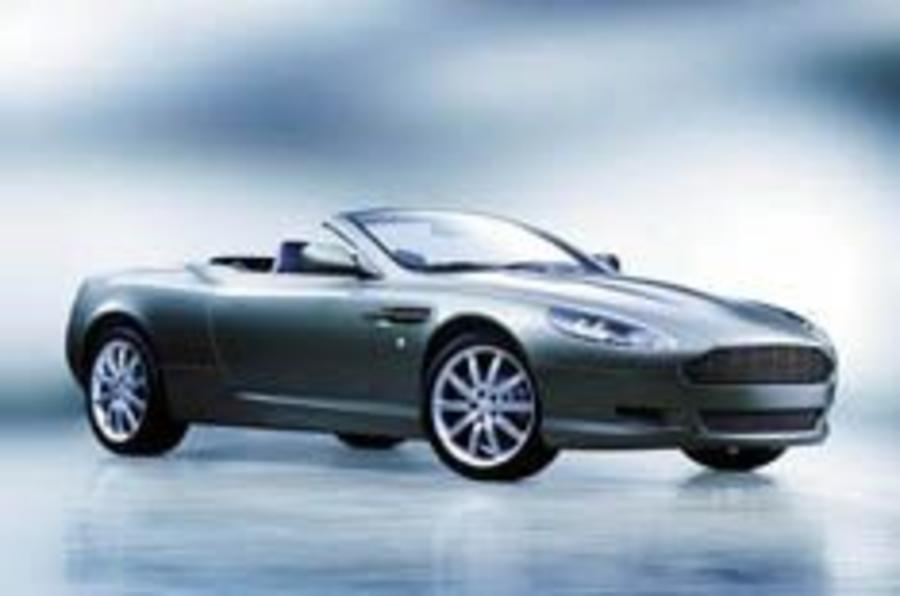 DB9 drops its top
