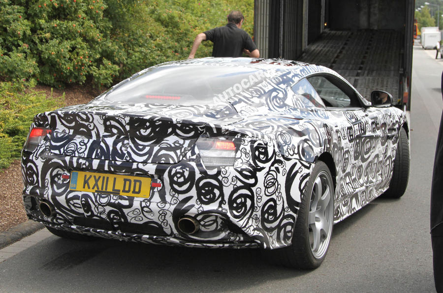 New Aston DBS scooped