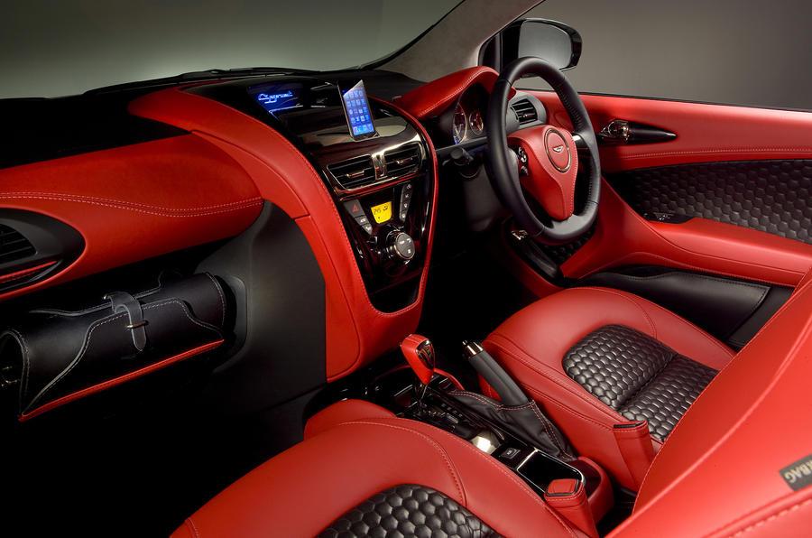 Geneva motor show: Aston Martin Cygnet