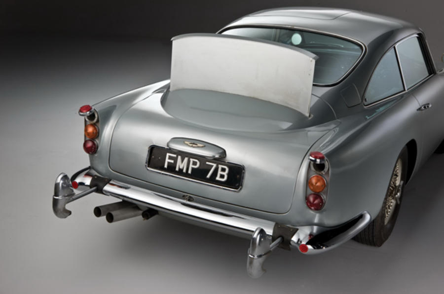 James Bond's Aston DB5 for sale