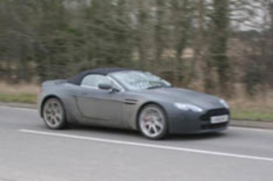 Scoop: Aston's V8 convertible