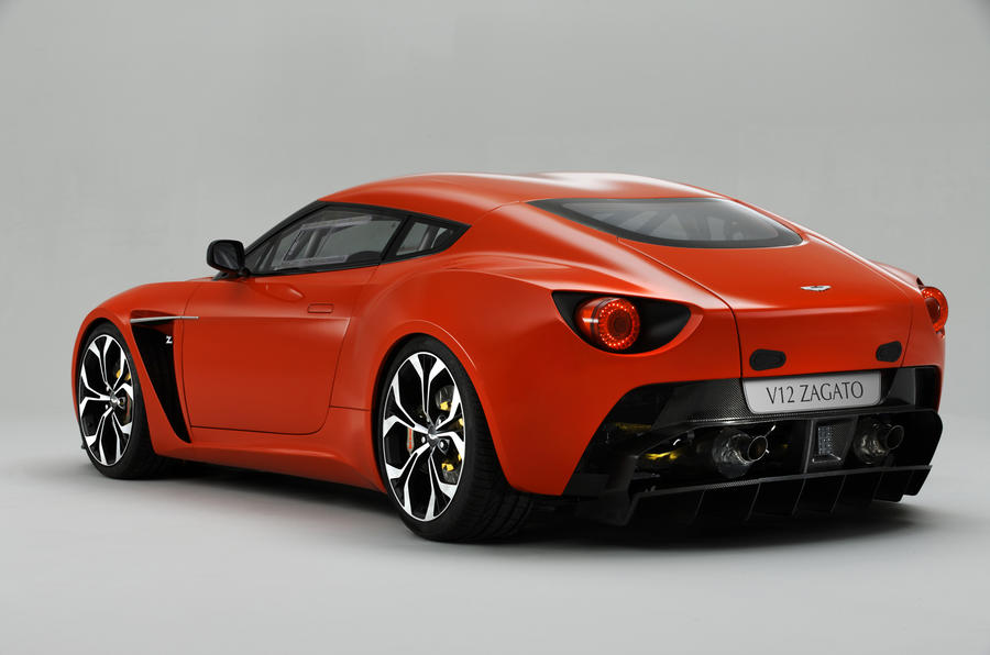 Aston to build V12 Zagato