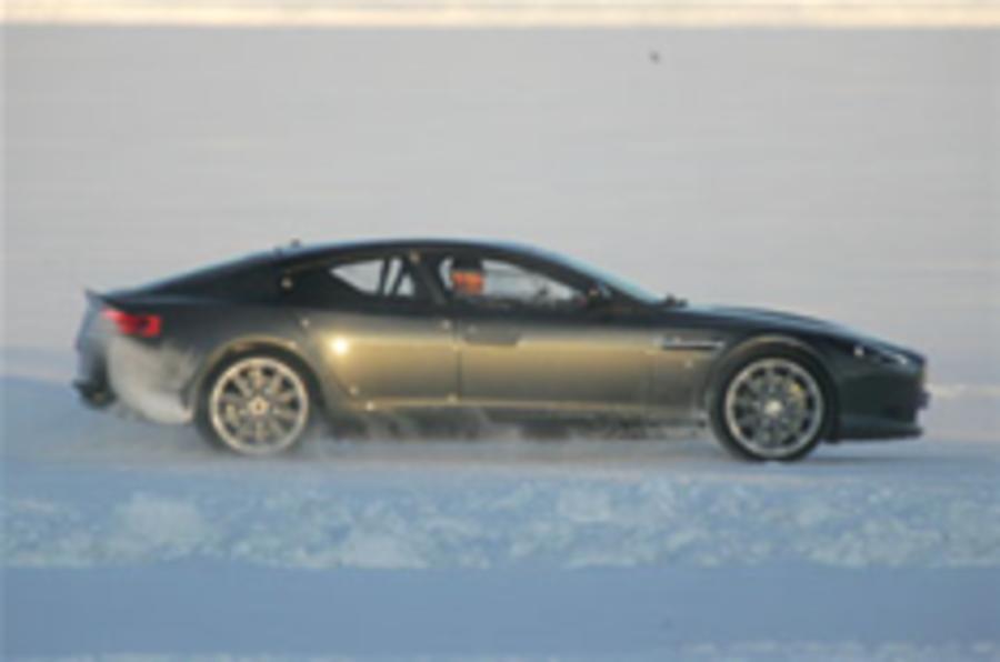 Aston Martin Rapide uncovered