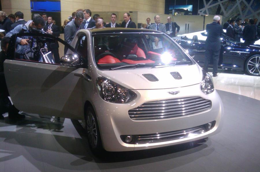 Aston Martin Cygnet: new pics