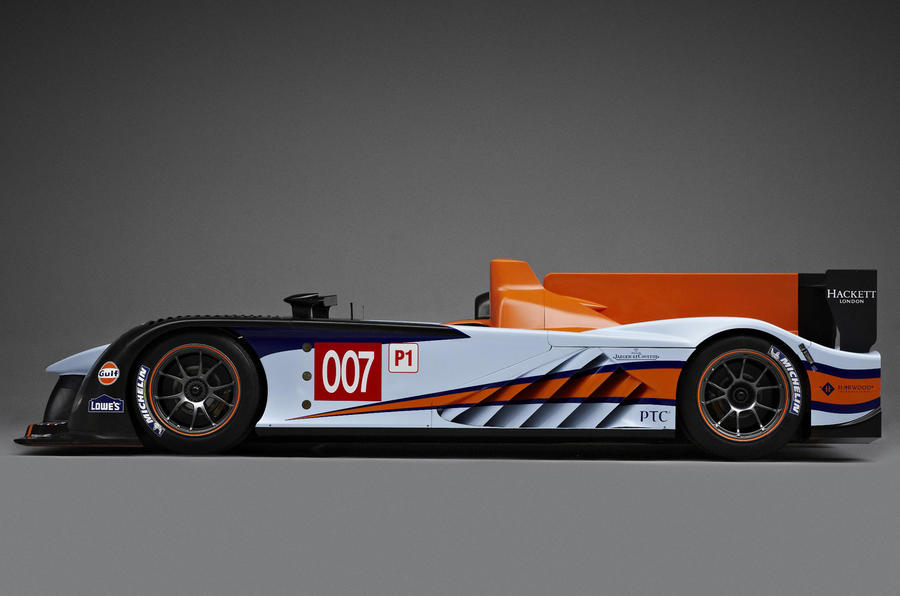 Aston Racing's new Le Mans car