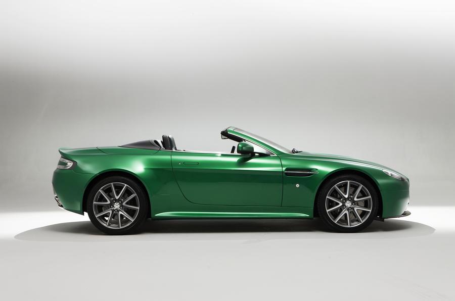 Geneva motor show: Aston V8 Vantage S
