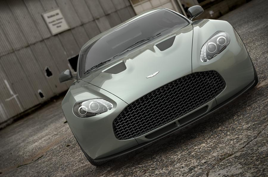 Aston Zagato breaks cover