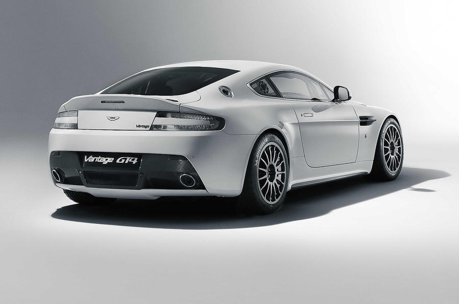 Aston reveals new Vantage GT4