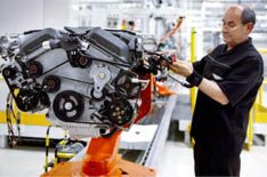 Aston Martin opens new engine plant