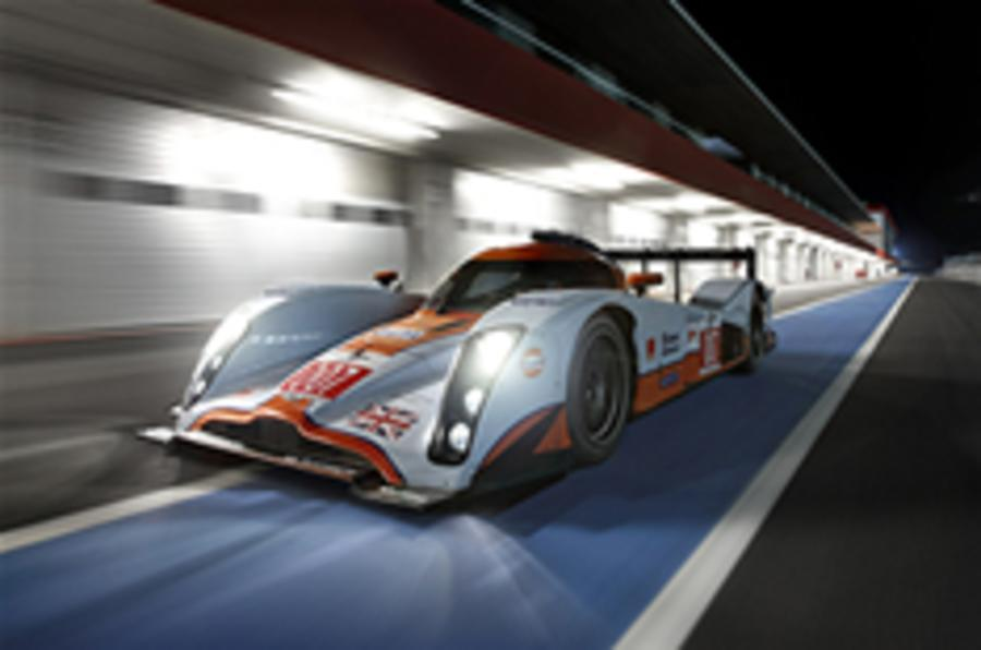 Aston Martin enters night race