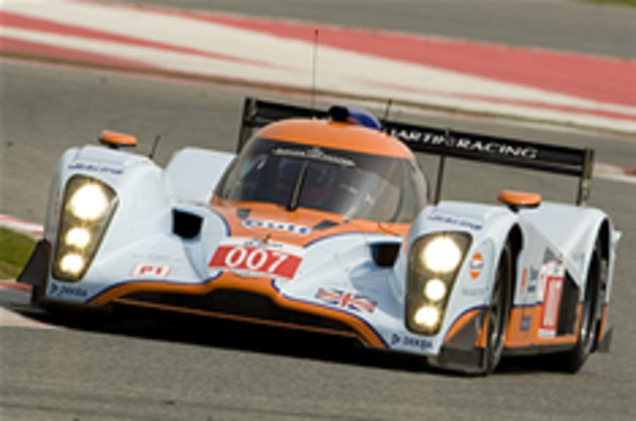 Aston Le Mans car wins on debut