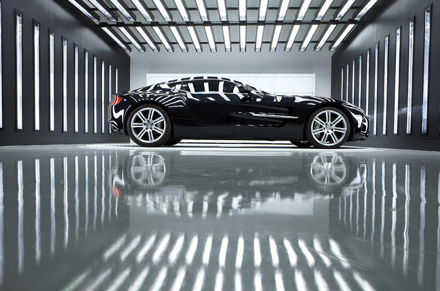 Aston One-77: 60 of 77 sold