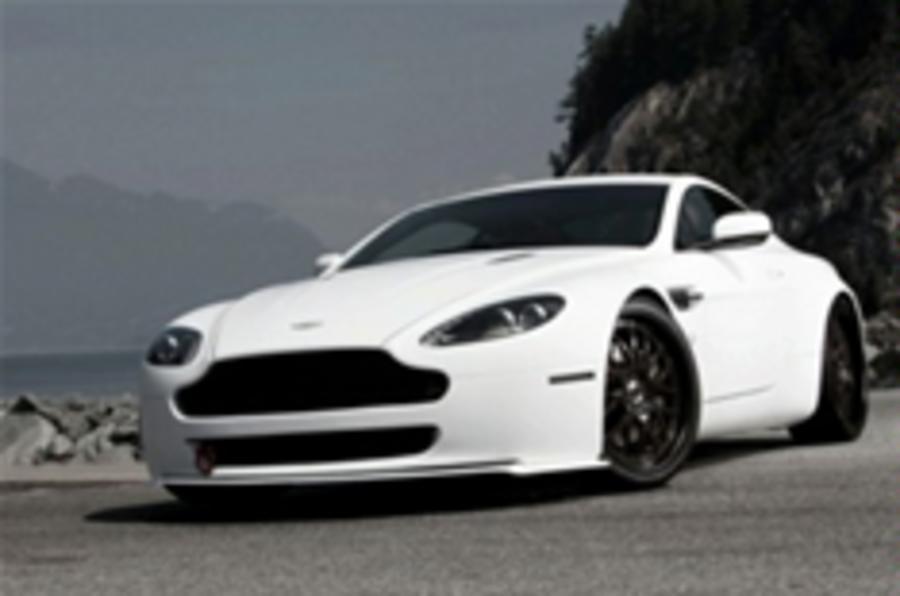 Aston V8 Vantage reworked