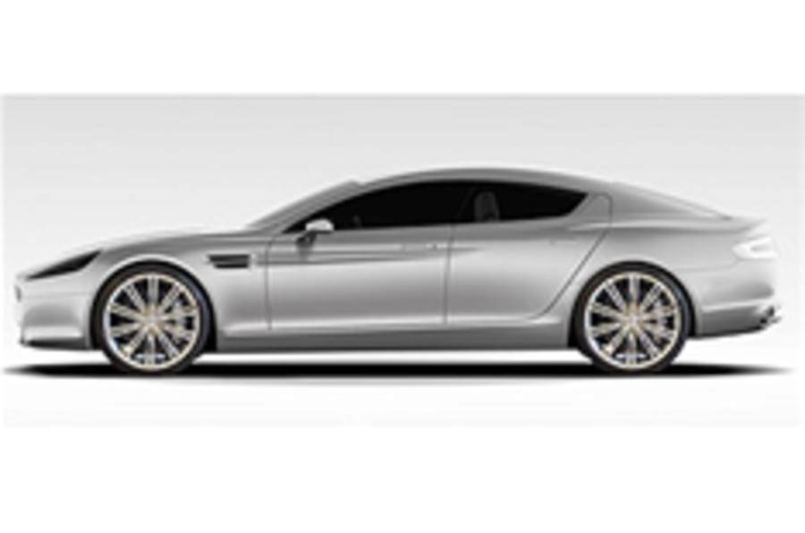 Official pic: Aston Martin Rapide