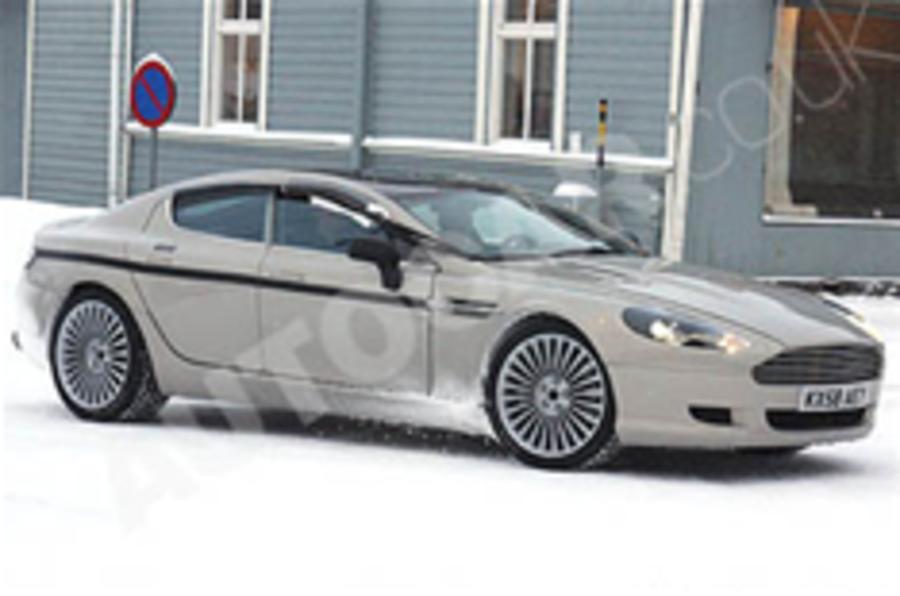 Spied: Aston Martin Rapide