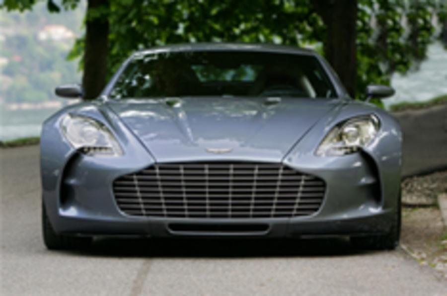 Aston Martin One-77 revealed