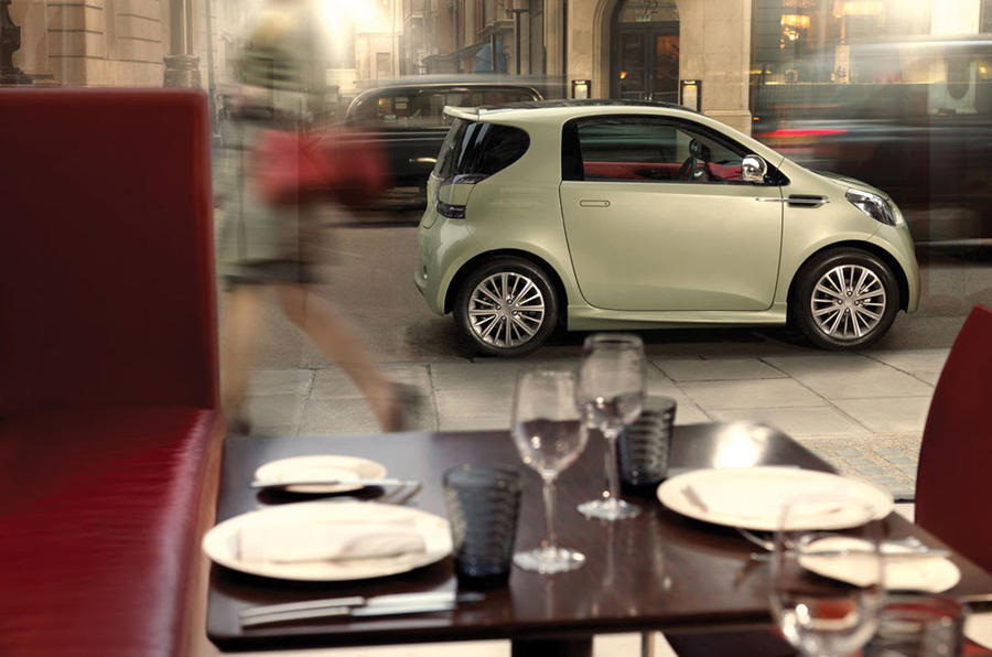 Aston Cygnet on sale next year