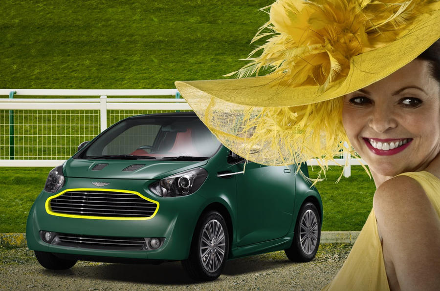 Aston Cygnet's madcap colours