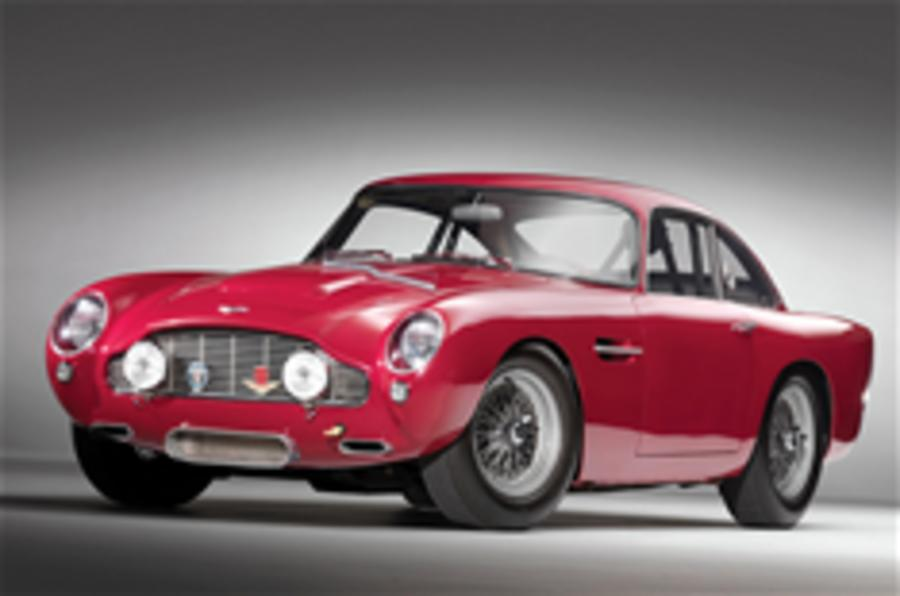 Rare Aston DB4 GT for auction