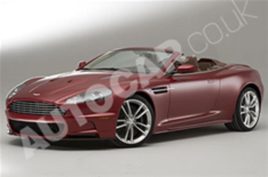Official pics: Aston DBS Volante