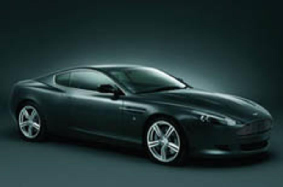 Aston makes DB9 more sporty