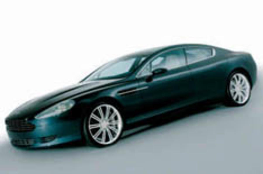DB9 grows two more doors