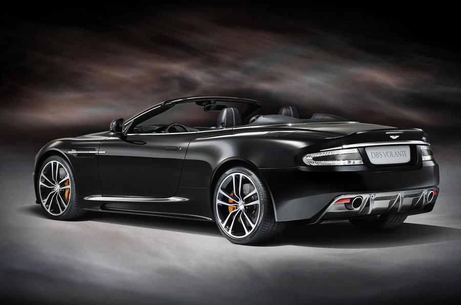 Frankfurt show - special Aston DBS
