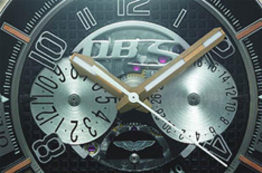 Aston DBS gets timepiece