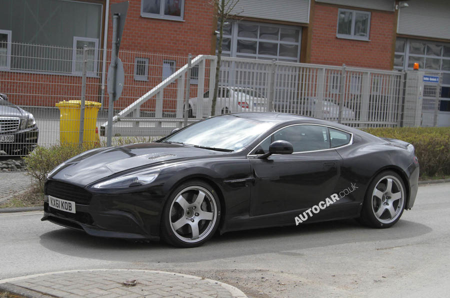 New Aston DBS gets 550bhp