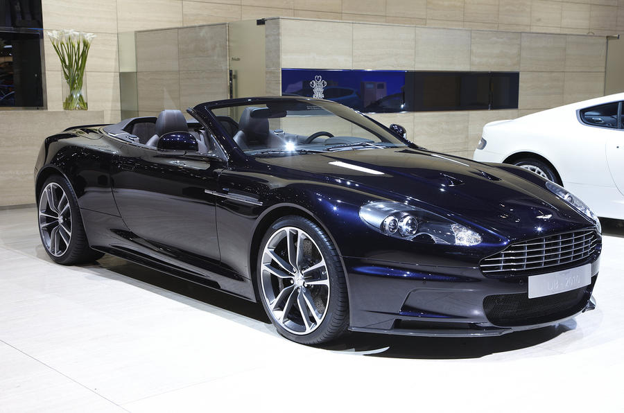 Aston reveals limited DBS
