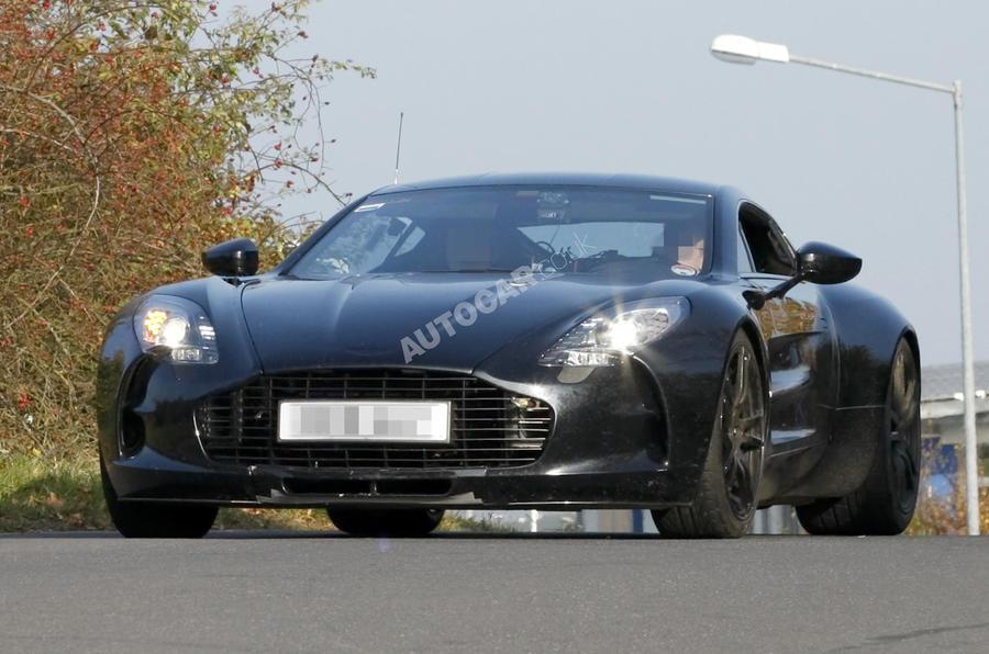 Aston's 750bhp One-77 - pics