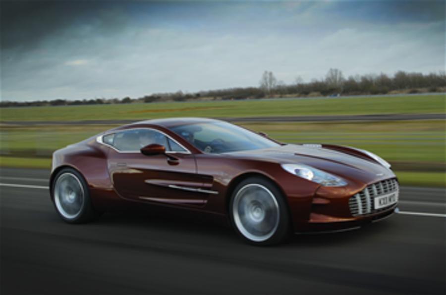Exclusive Aston One-77 video feature