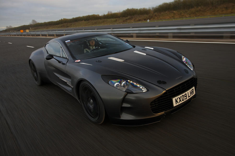 Aston Martin One-77 on video