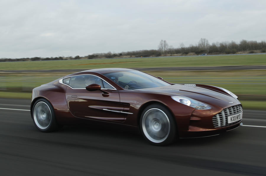 Aston Martin One-77: Riding shotgun