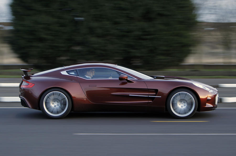 Aston Martin One 77 Riding Shotgun Autocar