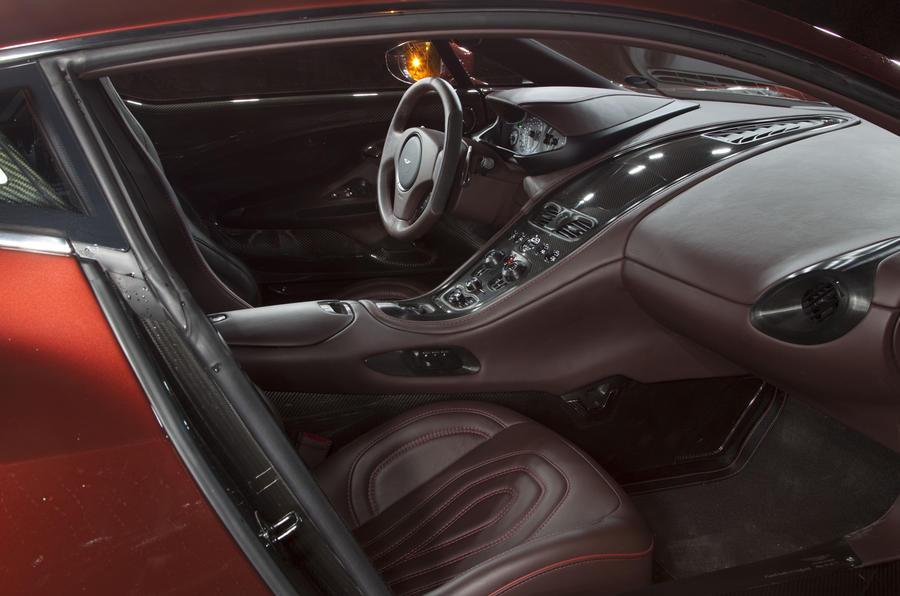 Aston Martin One-77: Riding shotgun