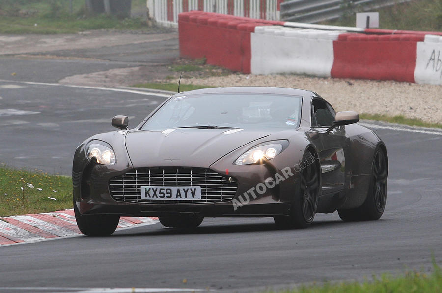 Aston One-77 at the 'Ring