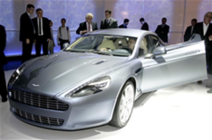Frankfurt show: Aston Rapide
