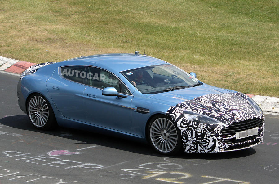 Aston Rapide gets power hike