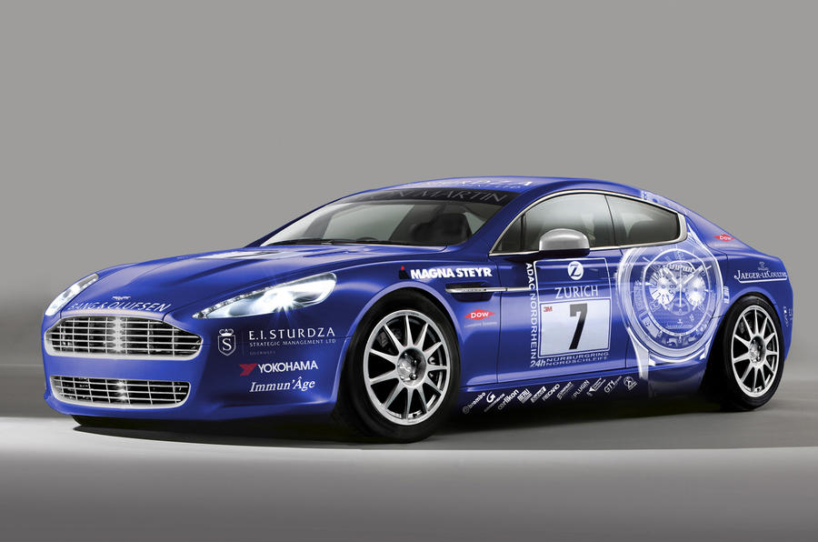Aston Rapide racer revealed