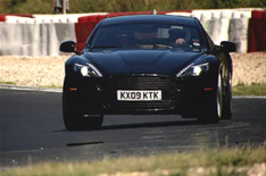Aston Martin Rapide on video