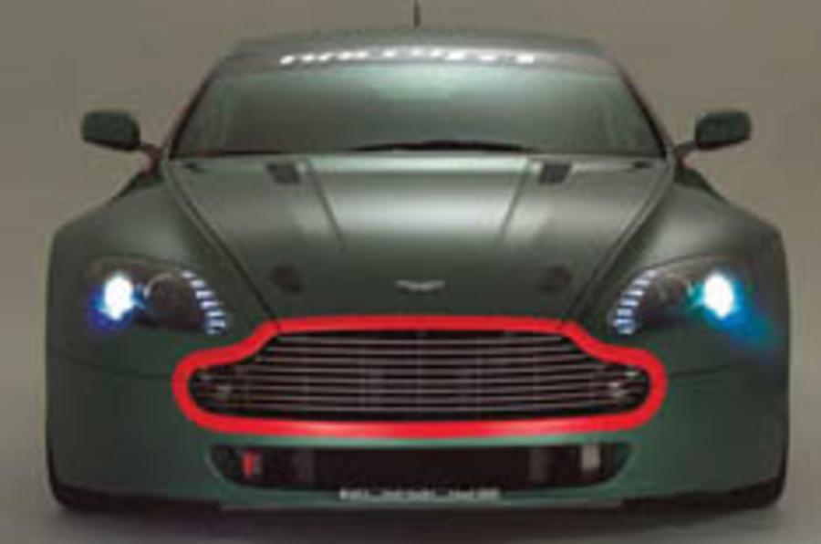 Aston's rally racer unveiled