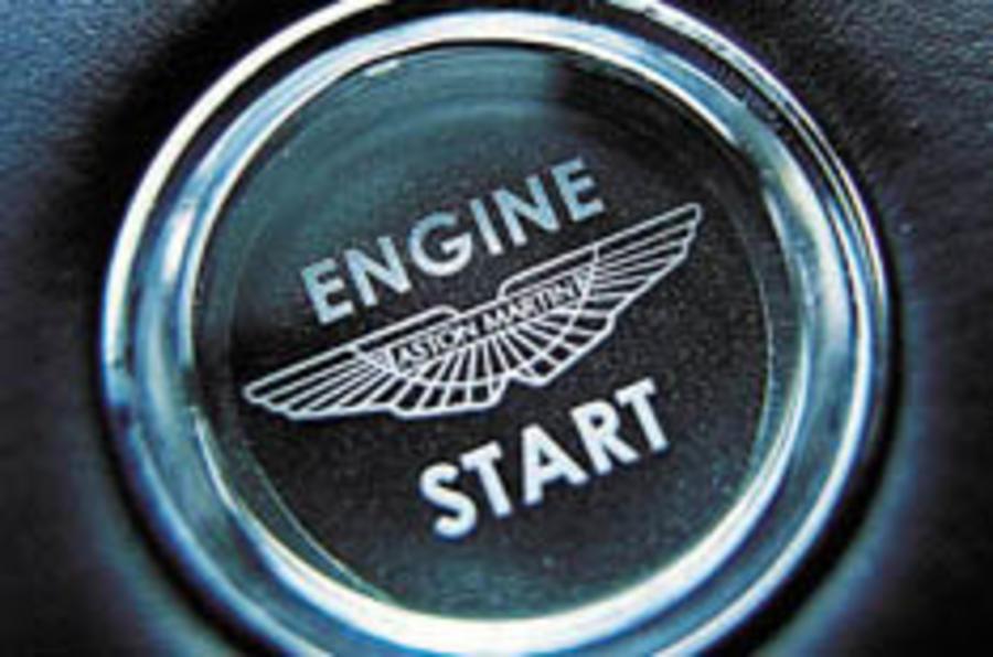 Aston Martin: under new ownership