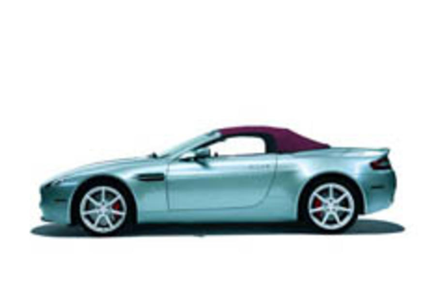 Aston uncovers Vantage Roadster