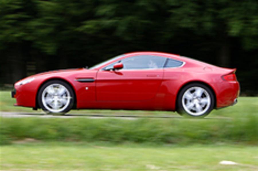 Older Aston V8s get power boost