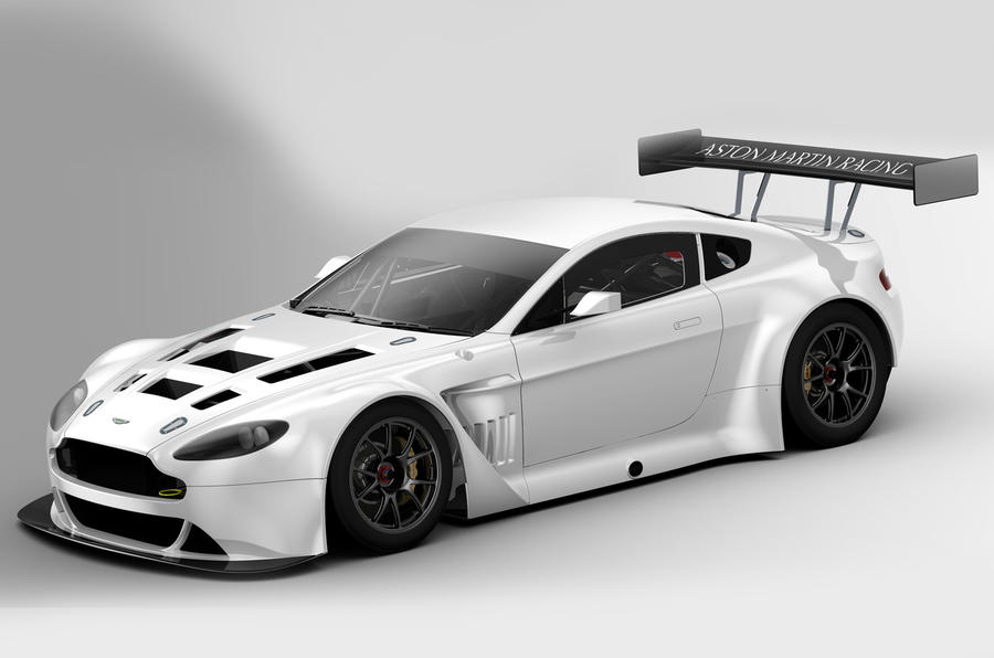 Aston Martin racer breaks cover