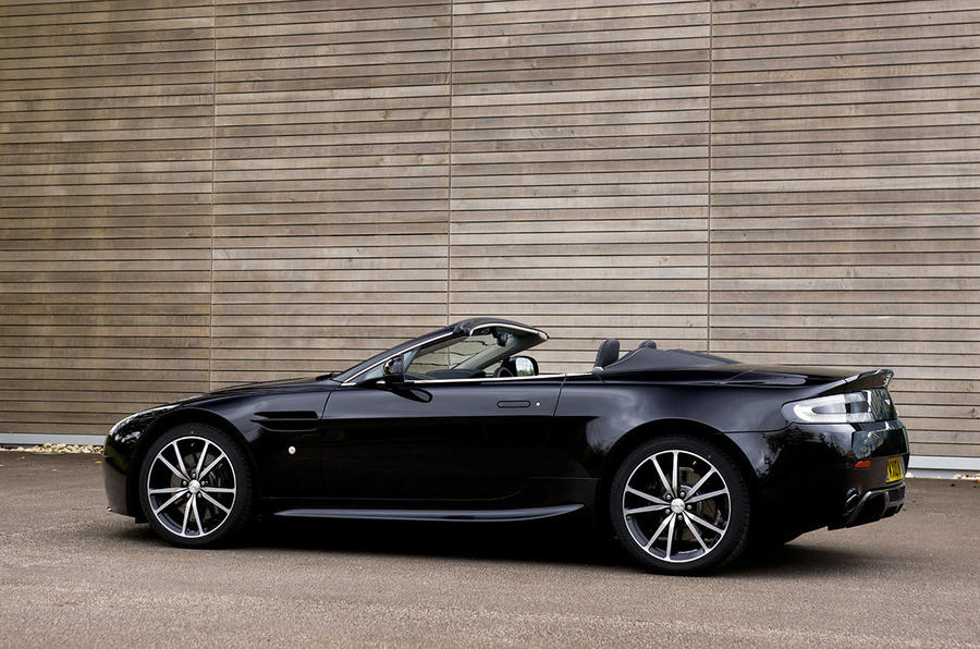 Aston's lighter Vantage roadster