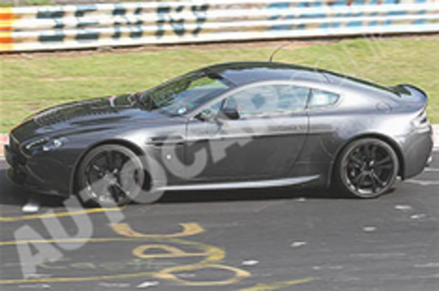 Scoop: Aston Vantage V12