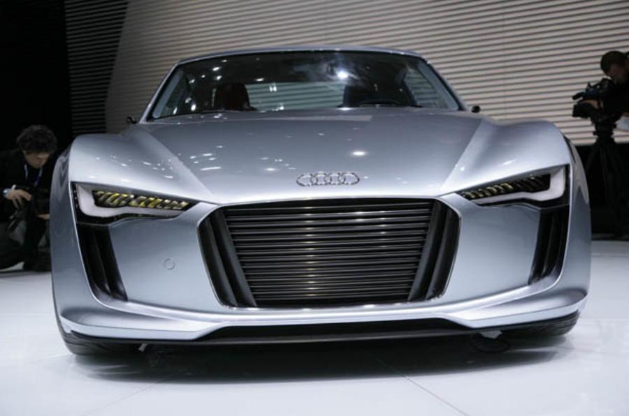 Audi's new smaller, lighter e-tron