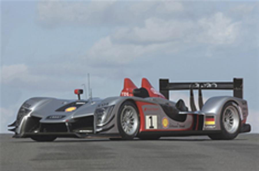 Audi unveils new Le Mans racer